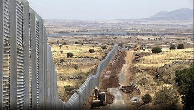 Frontière Israélo-syrienne