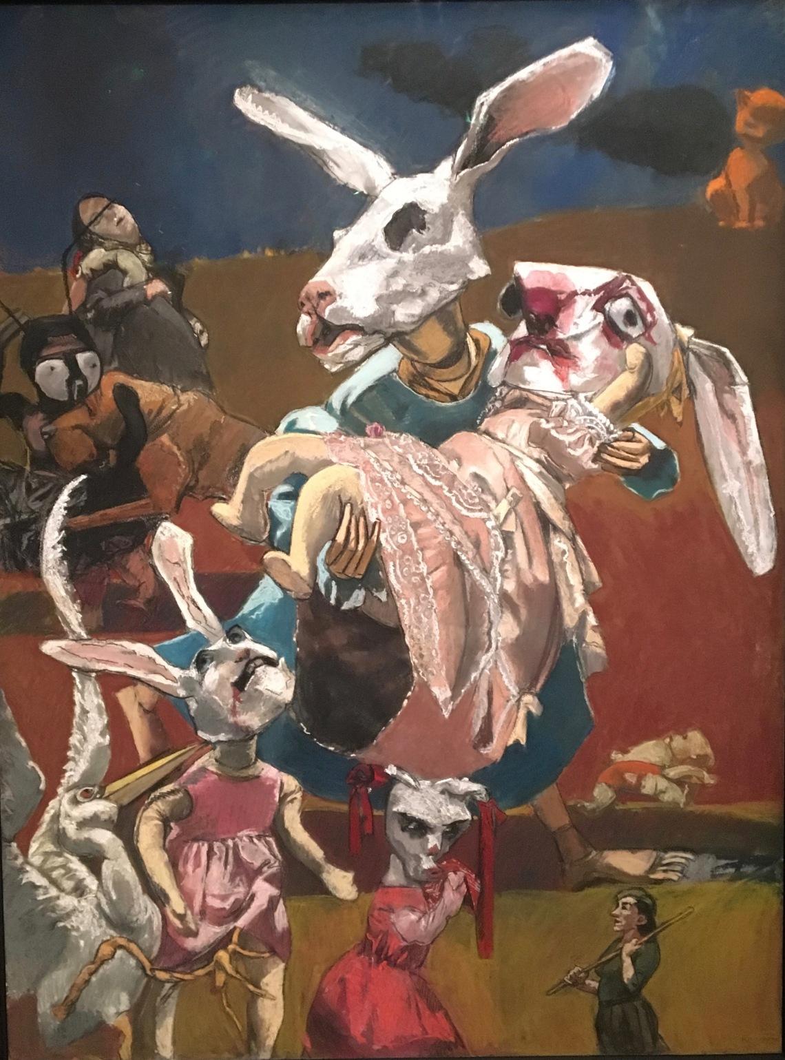 2. Paula Rego, War, 2003, pastel sur papier monté sur aluminium. London Tate