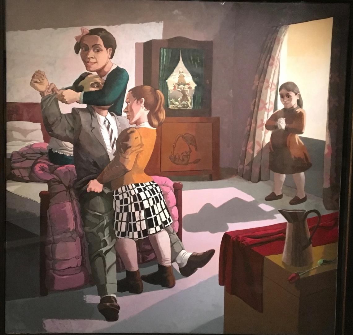 4. Paula Rego, The Family, 1988, acrylique monté su toile. Marlborough International Fine Art