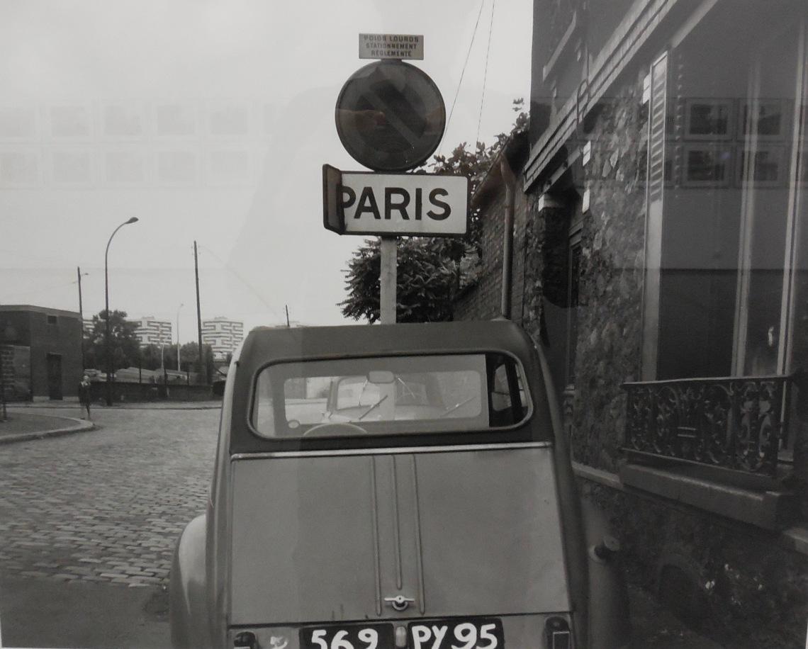 E. KOSSAKOWSKI 6 mètres avant Paris 2. 1971