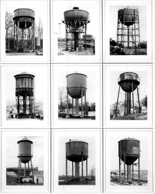 Hilla + bernd Becher Water Towers, 1980