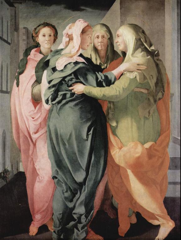 Jacopo Pontormo, Visitation, 1528