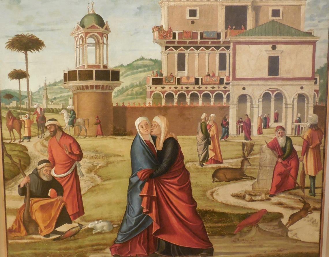 Vittore Carpaccio 1460-1525 Visitazione