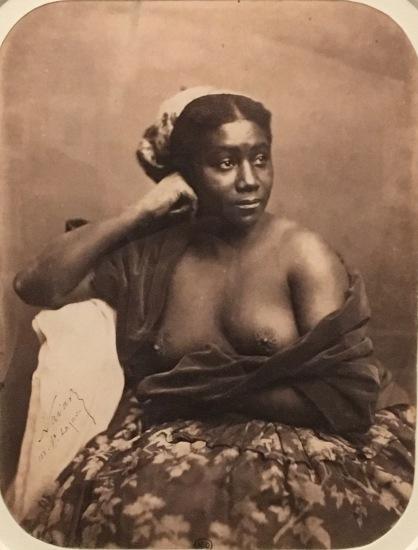 2. Nadar, Maria L'antillaise, 1856-1859, épreuve sur papier salé,ParisMusée d'Orsay