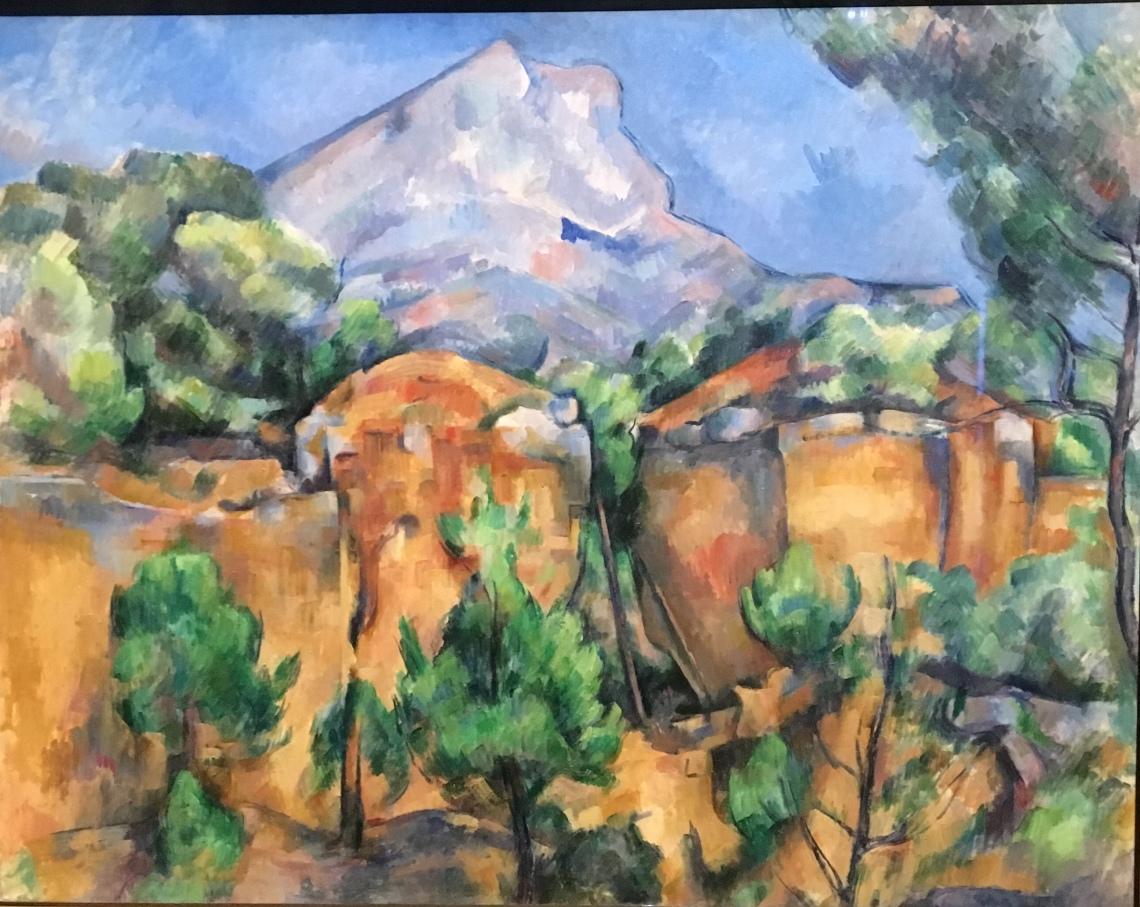 1. Paul Cézanne, La montangne St Victoire