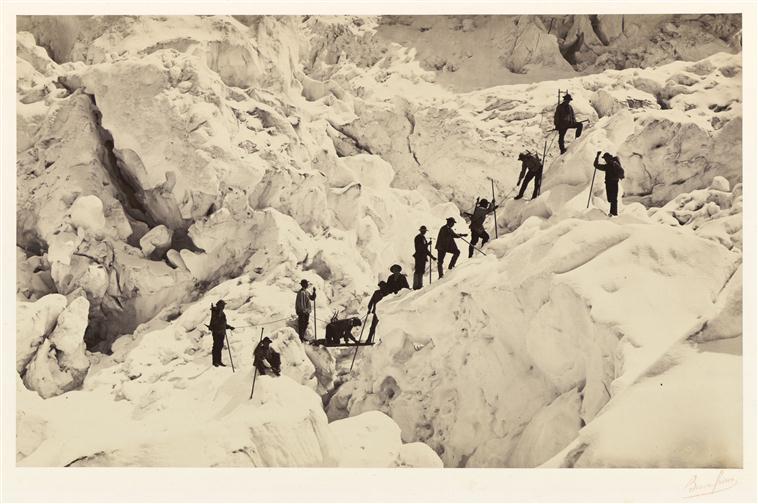 2. Frères Bisson, Savoie - passage à l'échelle horizontale, 1862,