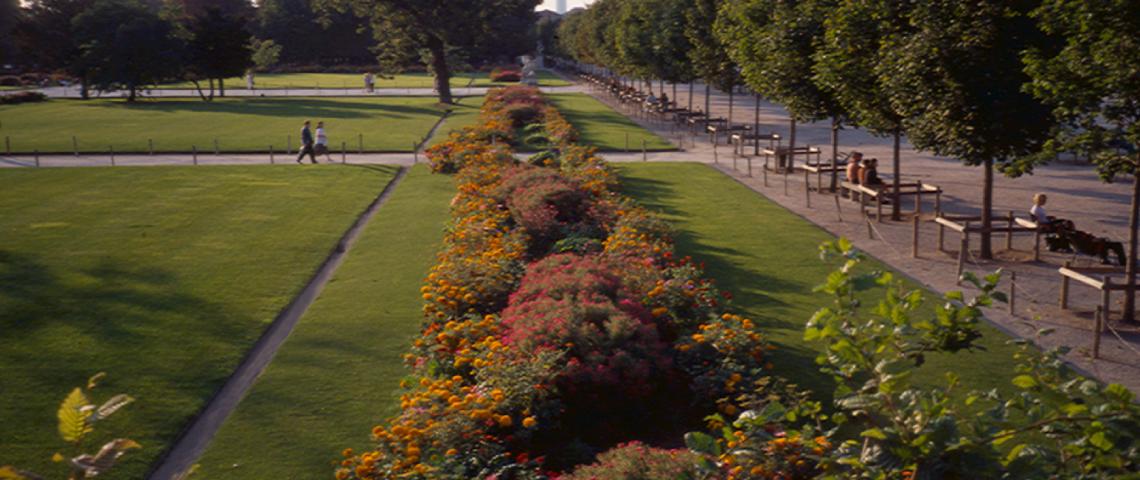 Louis Bénech, Jardin des Tuileries, 1999-2000